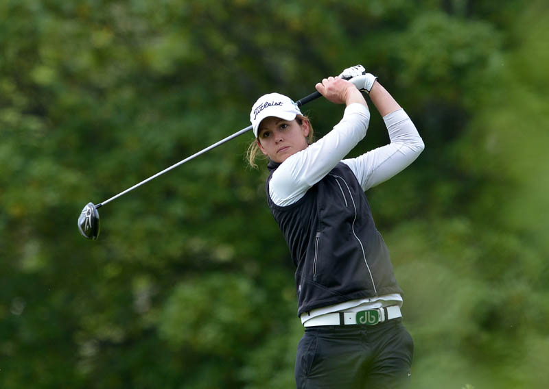 Skerries' Maria Dunne co-leads the Irish Women's Open Strokeplay for the Reddan-Garvey Trophy at County Louth
