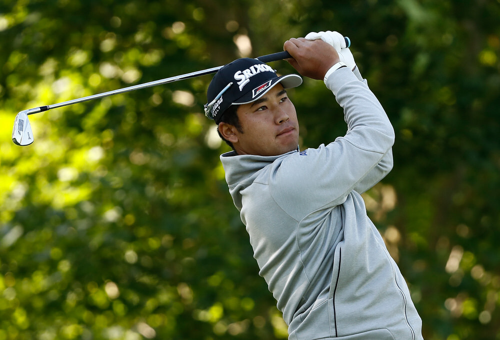Hideki Matsuyama of Japan plays a shot during the pro-am round of The Memorial Tournament Presented By Nationwide at Muirfield Village Golf Club on May 31, 2017 in Dublin, Ohio. Photo: Sam Greenwood/Getty Images