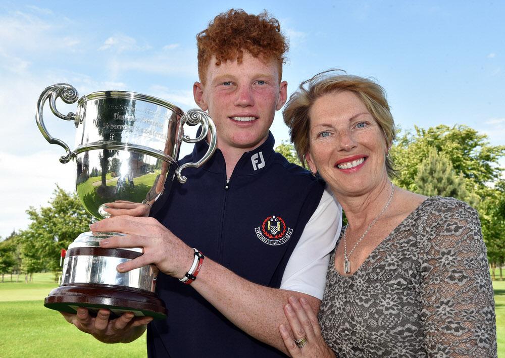 John Murphy and his mother Carmel