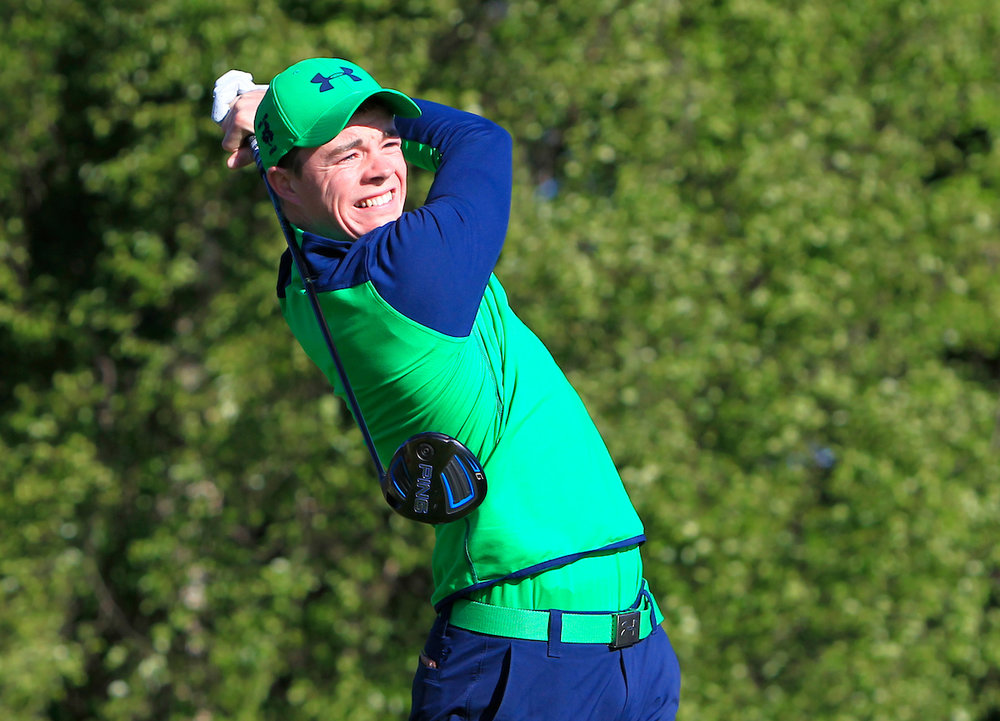 Tullamore's Stuart Grehan in action in last month's Lytham Trophy. Picture: Golffile / Thos Caffrey.