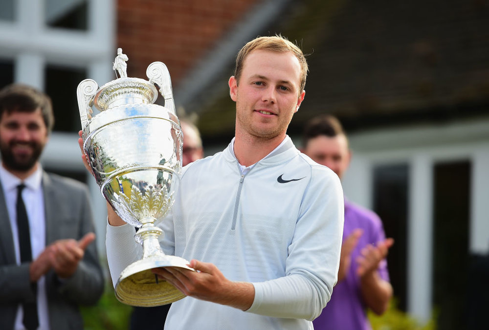 Harry Ellis won The 122nd Amateur Championship at Royal St George's. Picture: The R&A