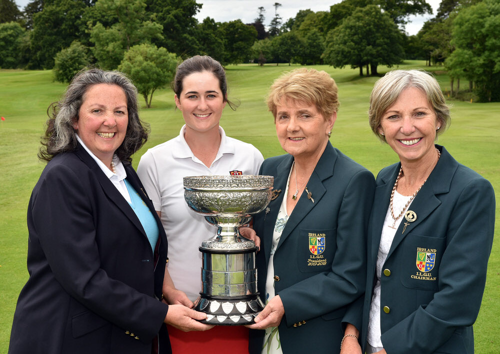 2017 Irish Women's Close presentation