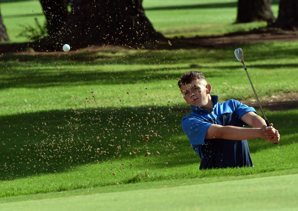 Rosslare's John Brady during last year's Irish Boys at Castle.Picture by Pat Cashman
