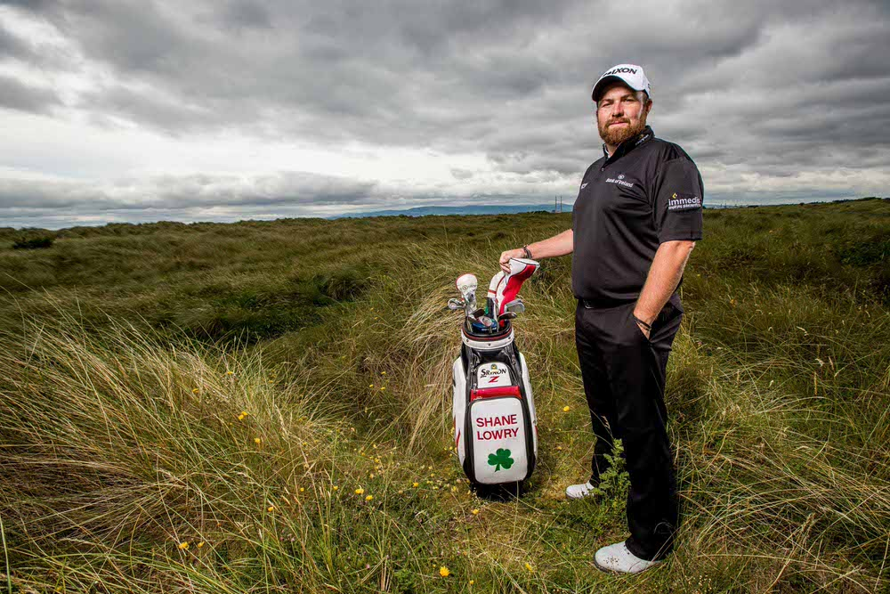 Pictured at St. Anne's Golf Club is Irish Professional Golfer, Shane Lowry at the launch of his partnership with Immedis. Immedis, a specialist division of the Taxback Group, provides global payroll and tax solutions to multinational organisations around the world.' Picture: ©INPHO/Morgan Treacy