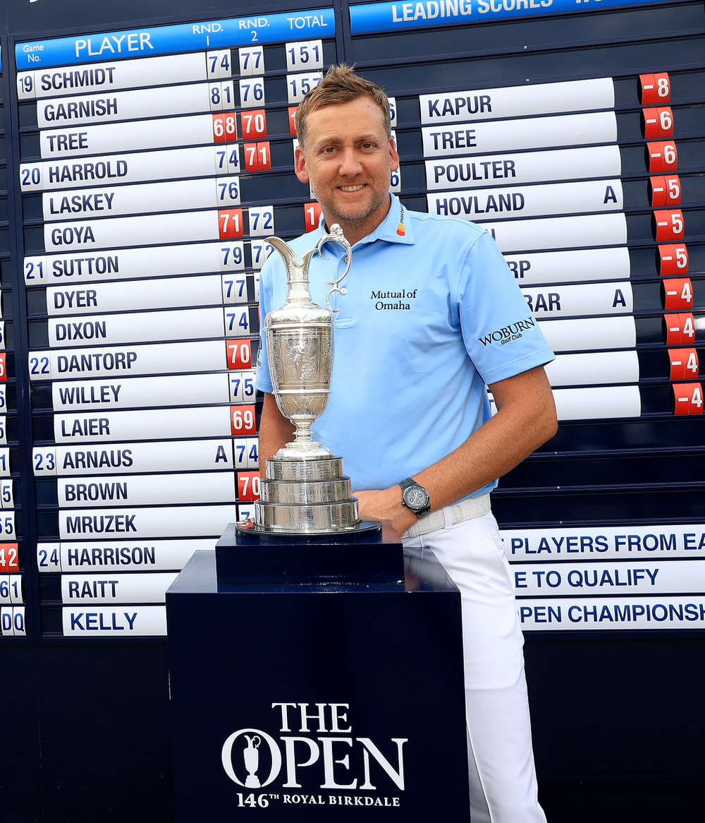 Ian Poulter qualified for The Open at Woburn. Picture: The R&A