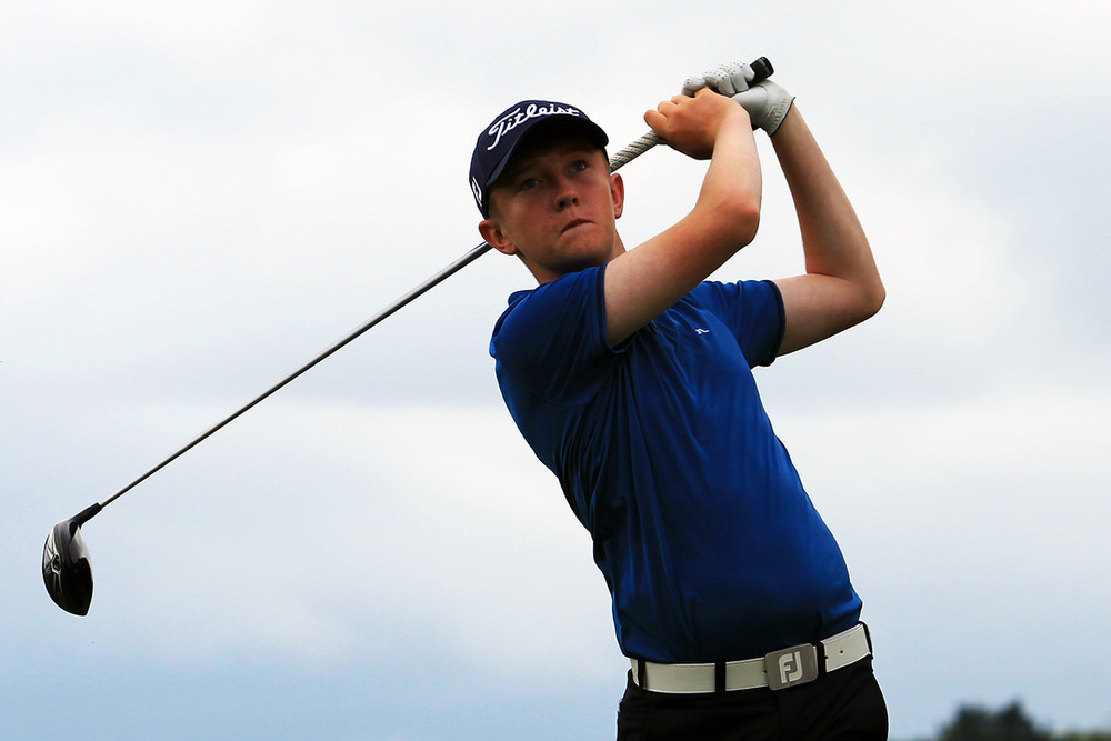 Lisburn's Aaron Marshall. Picture: Niall O'Shea/Cork Golf News