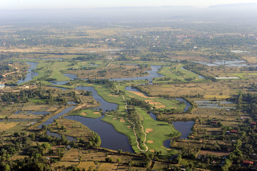 Angkor Golf Resort in Cambodia