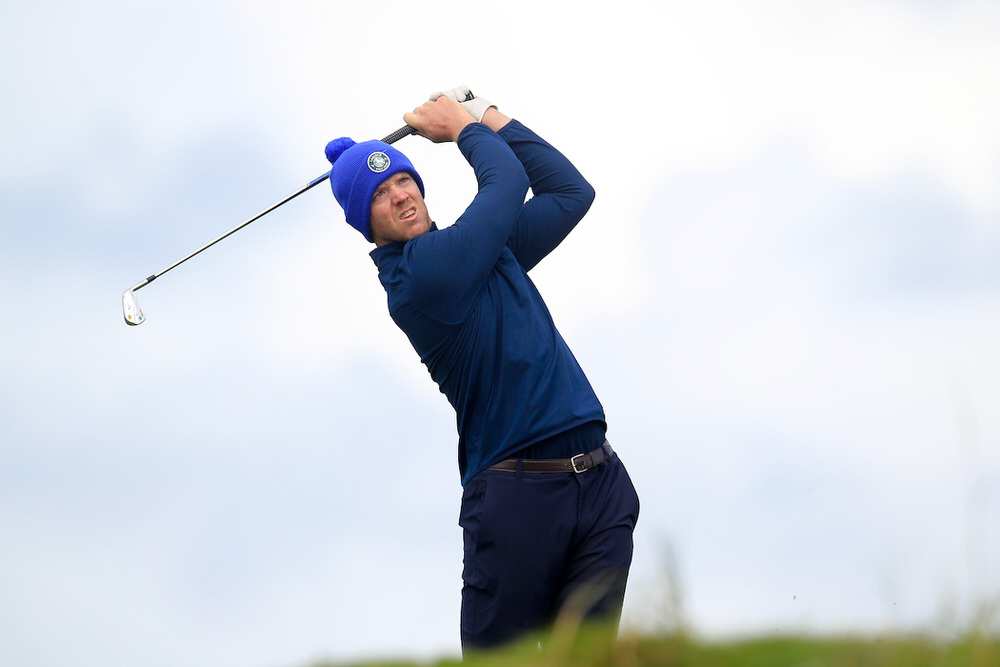 Peter O'Keeffe (Douglas). Picture: Fran Caffrey / Golffile