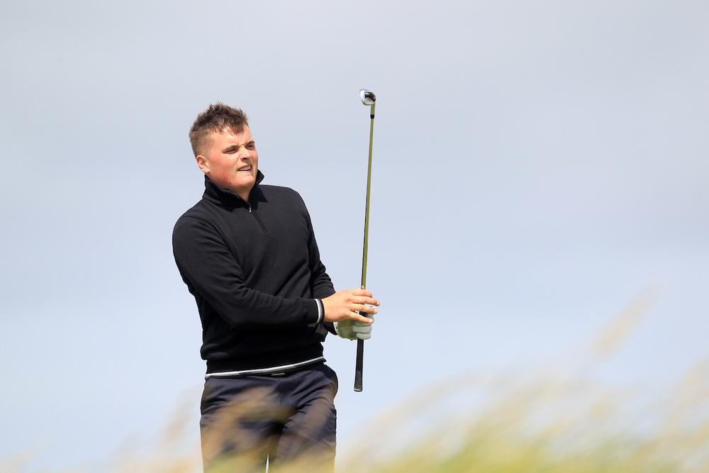 South of Ireland champion James Sugrue will tee it up in the Mullingar Scratch Trophy. Picture courtesy Brian Arthur