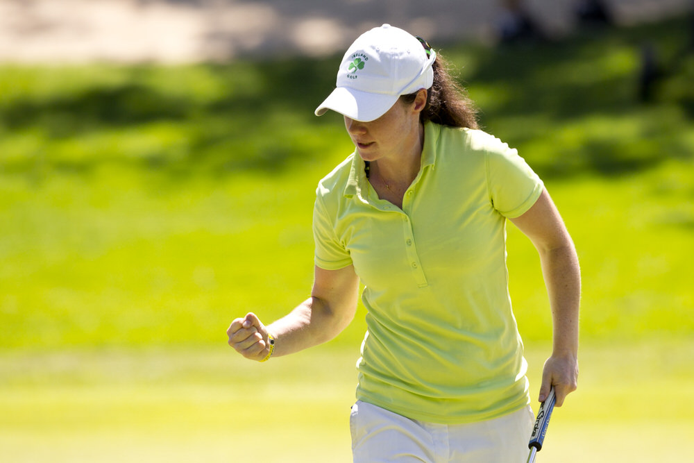 Leona Maguire during the 2016 Espirito Santo Trophy. © USGA/Steven Gibbons