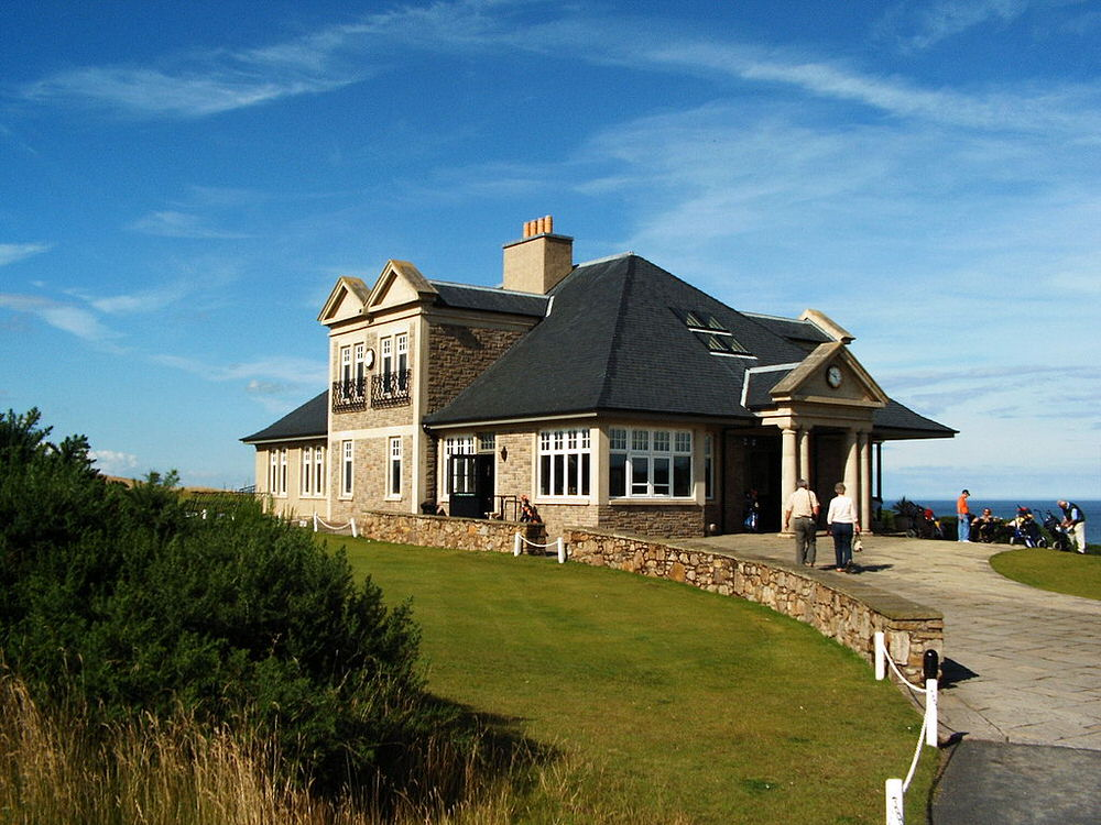 This clubhouse at Kingsbarns, Picture: S.Möller - Selbst fotografiertes Bild