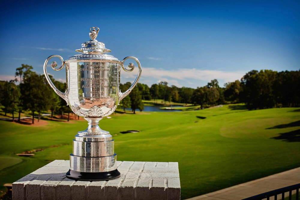 Charlotte, NC - September 30: A view from the Wanamaker Trophy at Quail Hollow Club on September 30, 2016 in Charlotte, North Carolina. (Photo by Gary Kellner/PGA of America)
