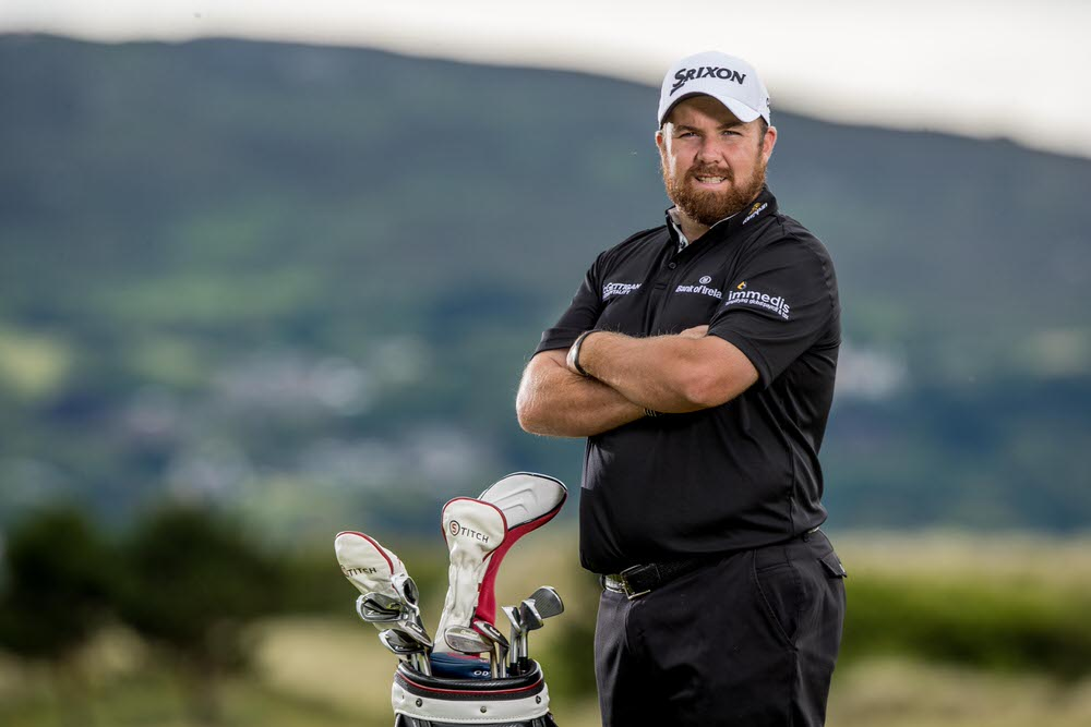 Shane Lowry at the launch of his partnership with Immedis. Picture: ©INPHO/Morgan Treacy