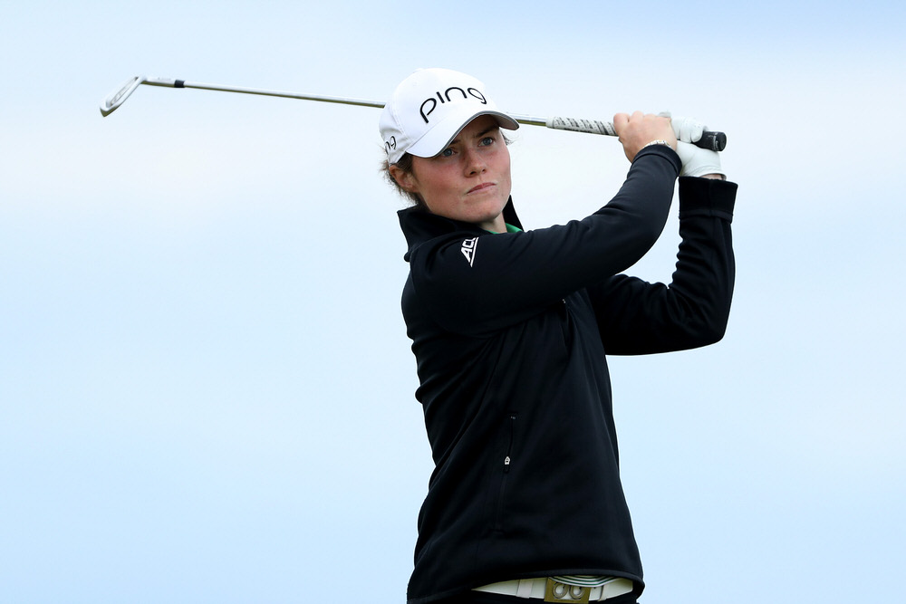 Leona Maguire wins the Mark H McCormack Medal for third consecutive year. Picture: David Cannon/Getty Images
