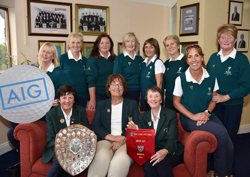 Lee Valley, Munster AIG Minor Cup winners 2017