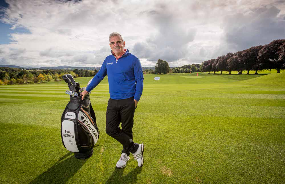 Paul McGinley at the newly redesigned Paul McGinley Golf Academy at Mount Juliet Estate. Picture: ©INPHO/Morgan Treacy
