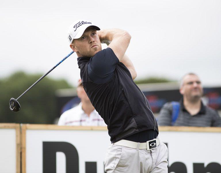 Brendan McCarroll. Picture: PGA Europro Tour