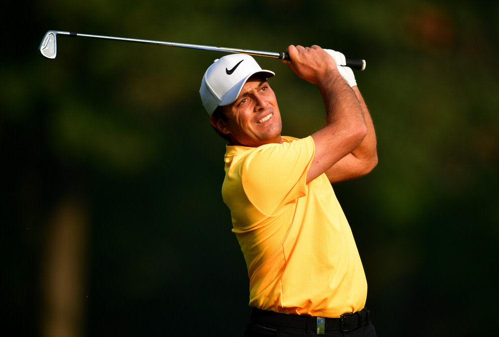 Francesco Molinari (Italy) during round one of the Italian Open at Golf Club Milano, Monza, Italy. (Photo by Stuart Franklin/Getty Images)