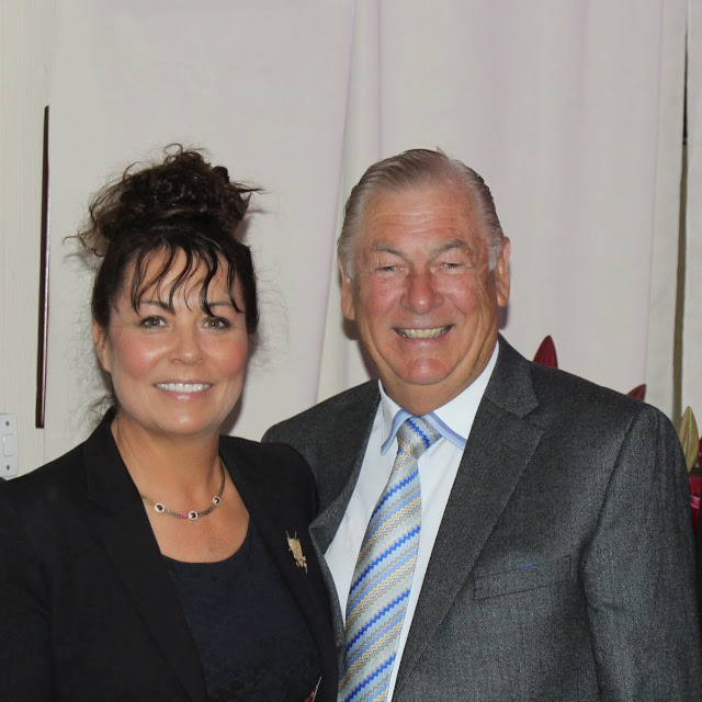 Judy with the late Christy O'Connor Jnr