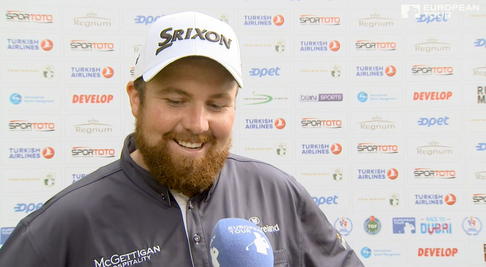 Shane Lowry is cautious about his chances in Turkey on Sunday