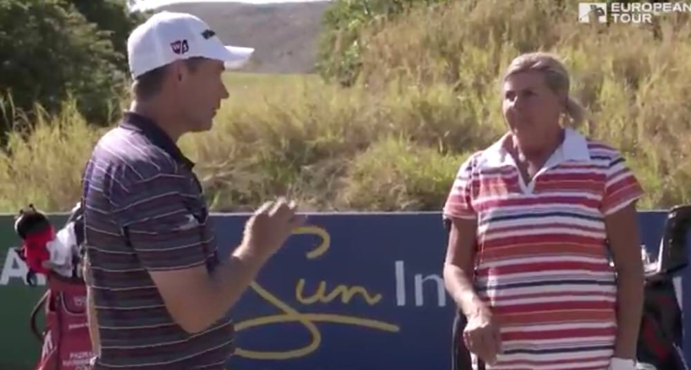 """What I like to do it humming"" — Pádraig Harrington"