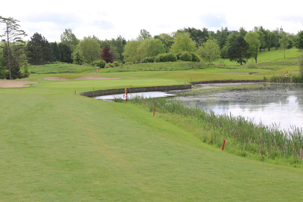The par-three 17th