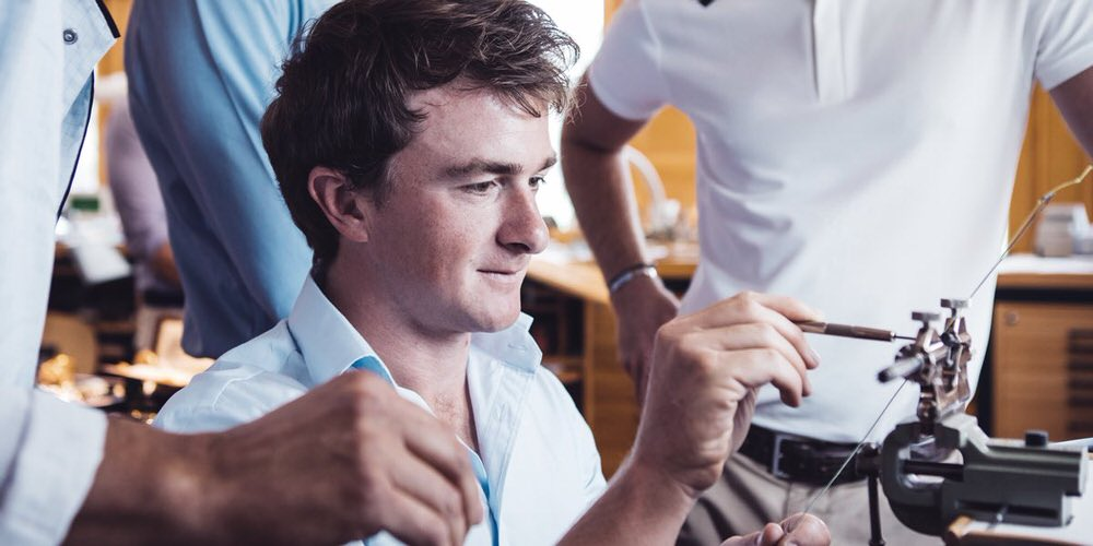 Paul Dunne. Picture ©  @AudemarsPiguet