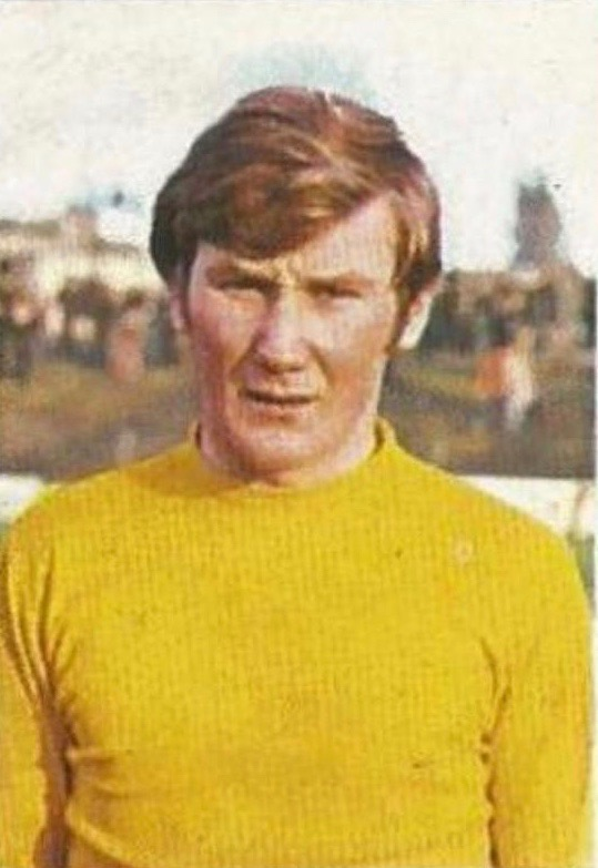 John Carroll in his footballing days with Cork Celtic