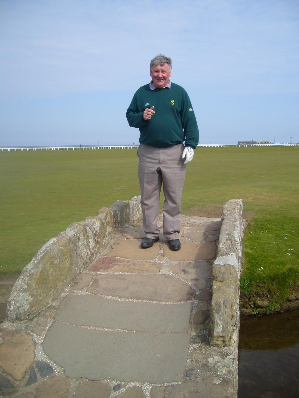 John Carroll at St Andrews