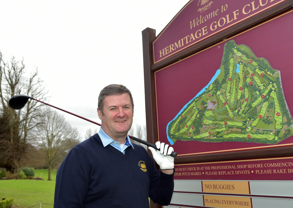 Hermitage professional Simon Byrne wants to hear from you. Picture:  Pat Cashman