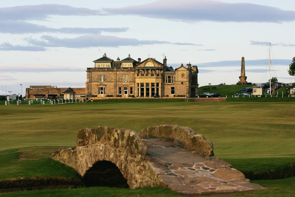 The Royal and Ancient clubhouse at St Andrews. Picture: Getty Images