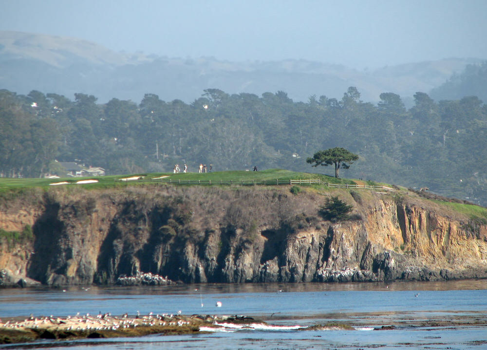 The sixth at Pebble Beach Golf Links. Picture by Bernard Gagnon