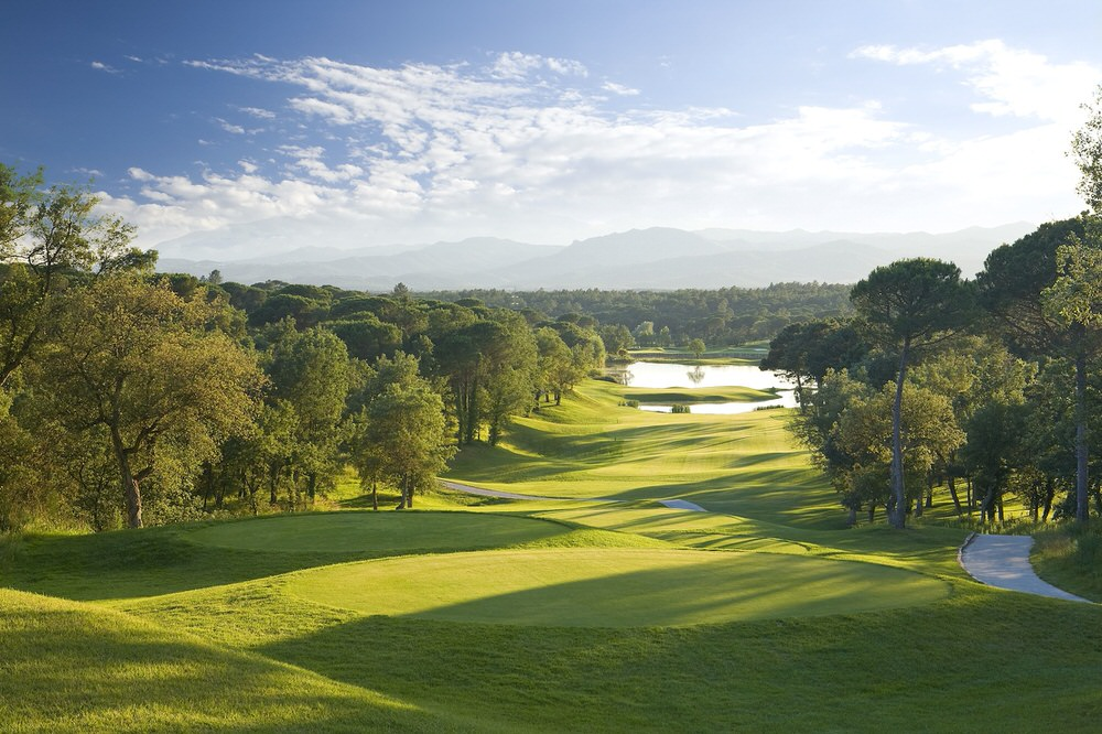 The 13th on the Stadium Course at PGA Catalunya