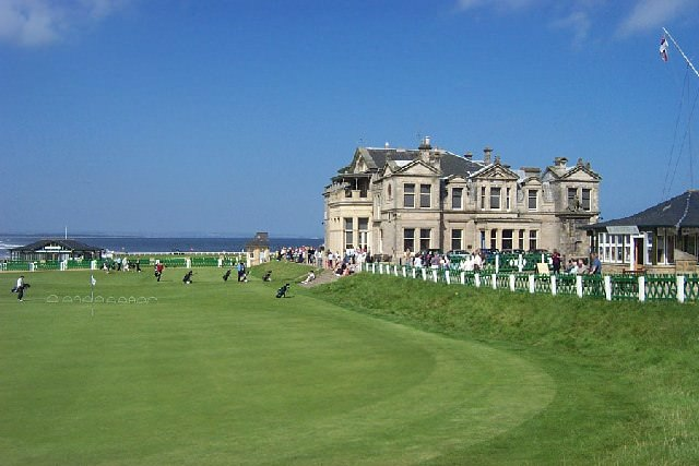 The Royal and Ancient clubhouse at St Andrews. Picture: Paul Birrell