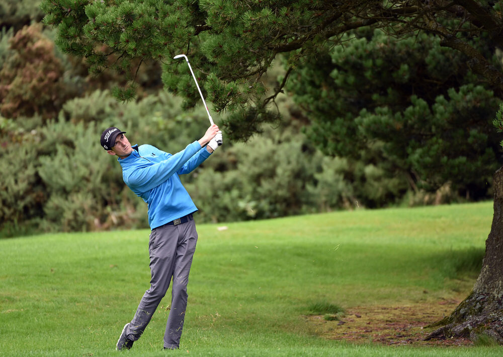 Tiarnan McLarnon (Massereene) during the AIG 2017 Irish Amateur Close Championship at Galway Golf Club. Picture by Pat Cashman
