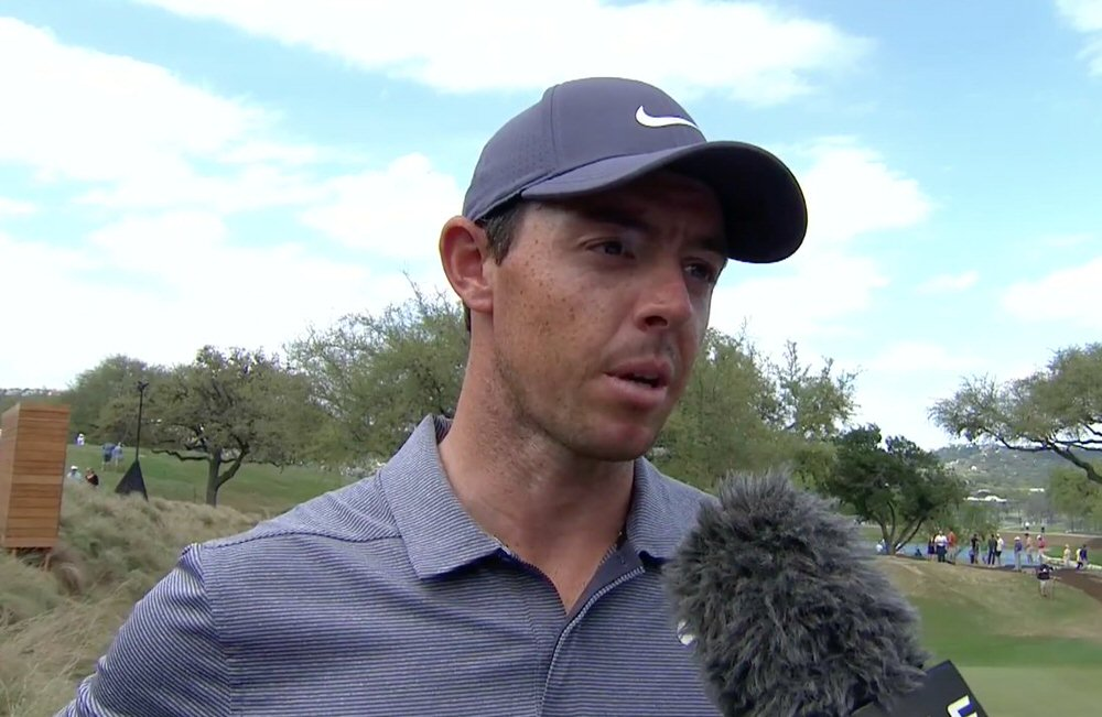 Rory McIlroy speaks to Golf Channel after his win on Thursday