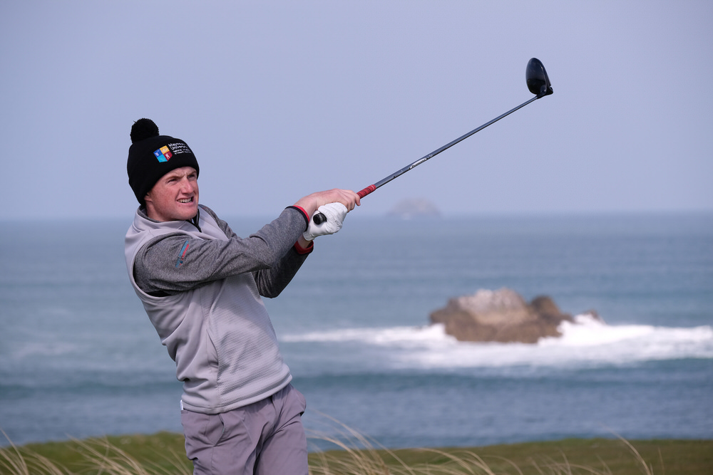 Ronan Mullarney en route to victory at Tralee. Picture/Golffile