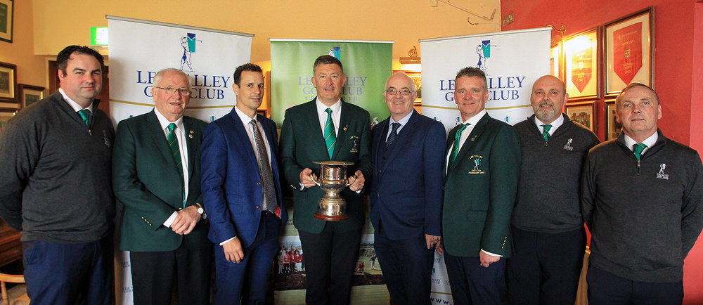 Lee Valley Officers pictured with representatives from sponsors Boyle Sports and ODG Advisory at the launch of the 2018 Senior Scratch Cup. Picture: Niall O'Shea