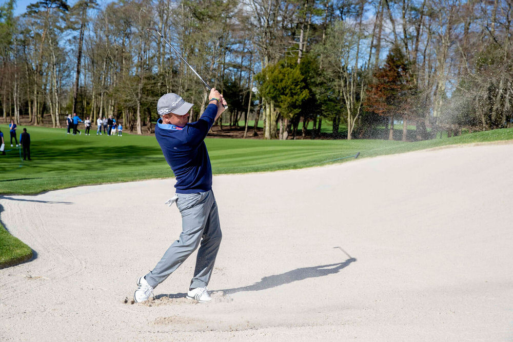 Paul McGinley during the recent opening of The Golf Course at Adare Manor