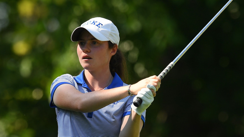 Leona Maguire. Picture: Tim Cowie