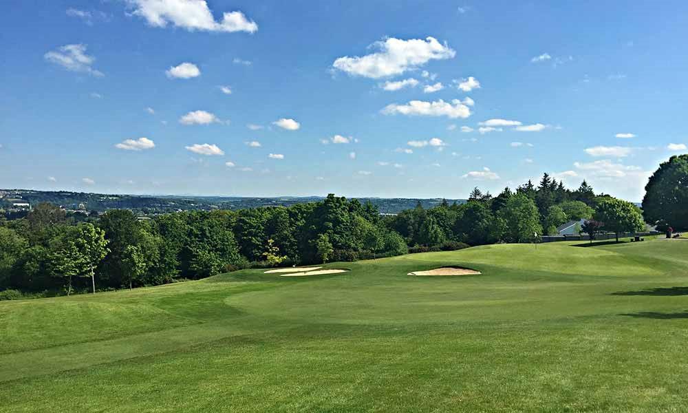 The 18th at Douglas Golf Club