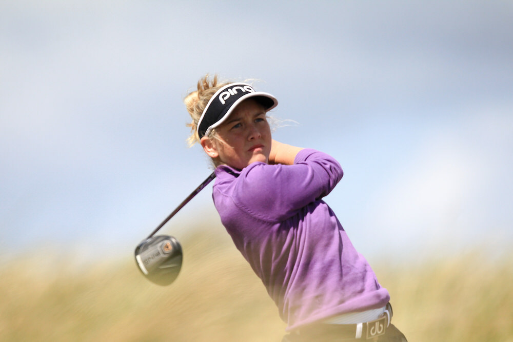 Sara Byrne (Douglas) during the Irish Women's Close Championship at Enniscrone Golf Club, Enniscrone, Co. Sligo, Ireland. 16/06/2018. Picture: Golffile | Fran Caffrey
