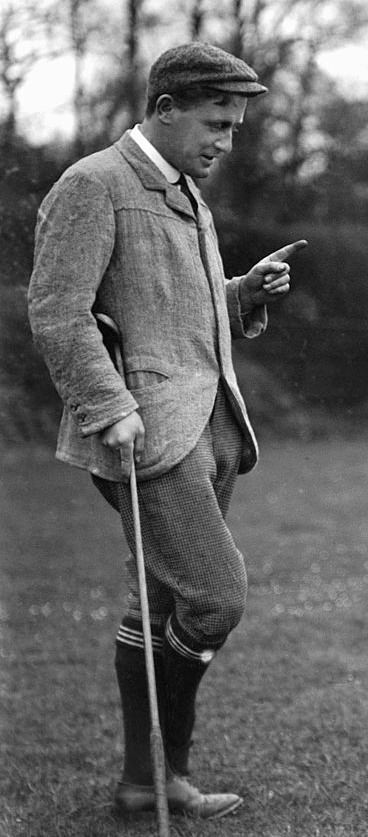 Harold Hilton in 1904