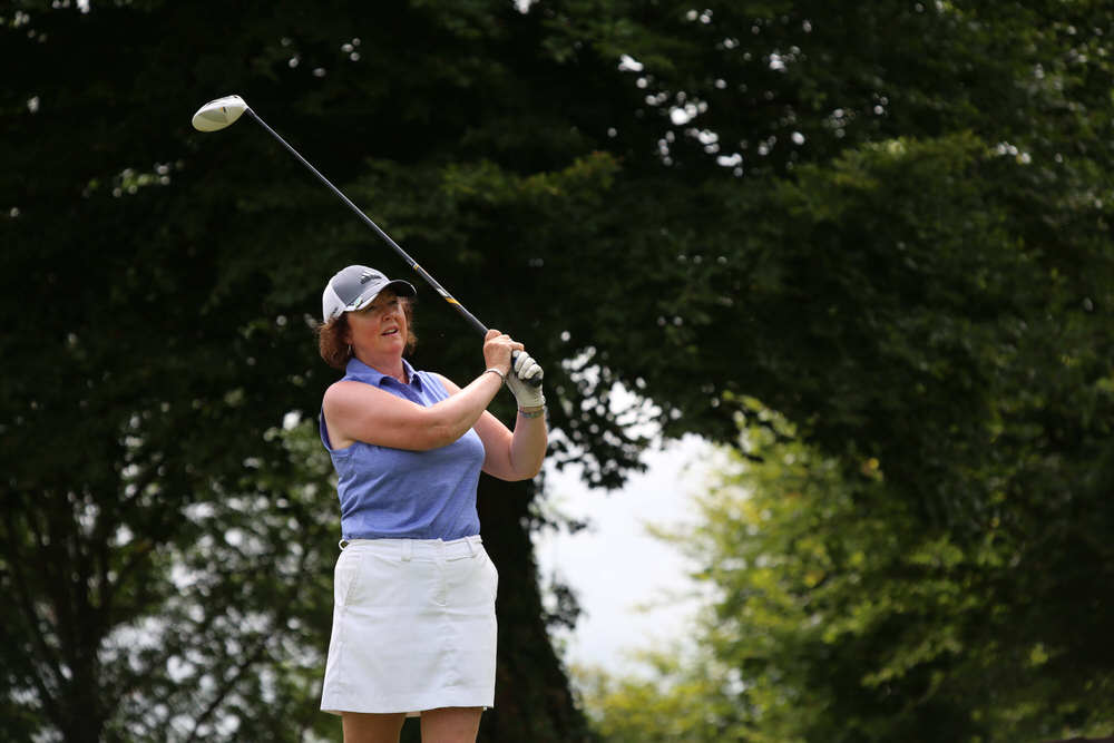 Suzanne Corcoran (Portumna) winner of the Irish Senior Women's Close Championship at Monkstown Golf Club, Cork. Picture: Jenny Matthews/ CashmanPhotography.ie