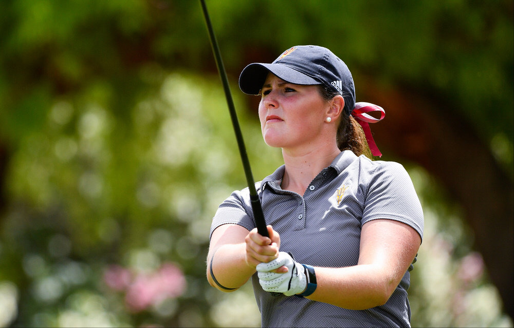 Olivia Mehaffey shot a seven-under 65 to lead after the first team of strokeplay qualifying in the European Ladies' Team Championship in Austria