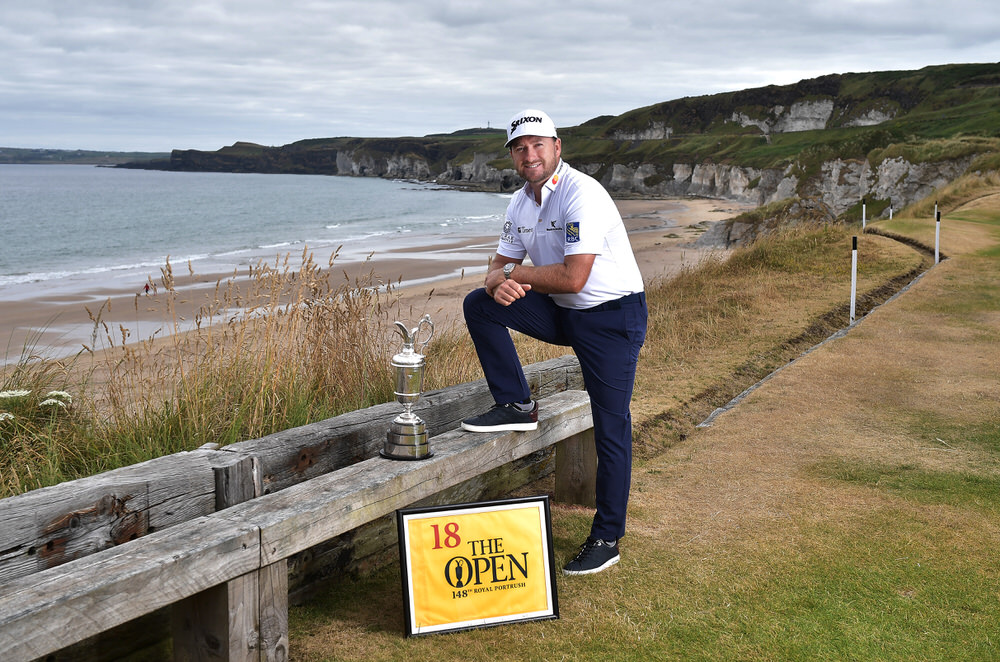 PORTRUSH, NORTHERN IRELAND - JULY 09: Graeme McDowell, Major Champion and Mastercard Global Ambassador. Photo by Charles McQuillan/R&A/R&A via Getty Images