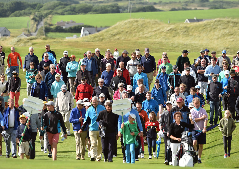 Big crowds traditionally follow the South of Ireland final at Lahinch