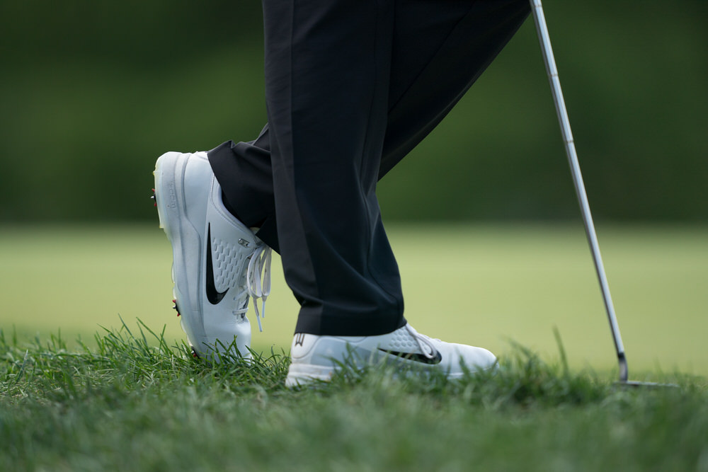 Nike shoes. Pic: PGA of America