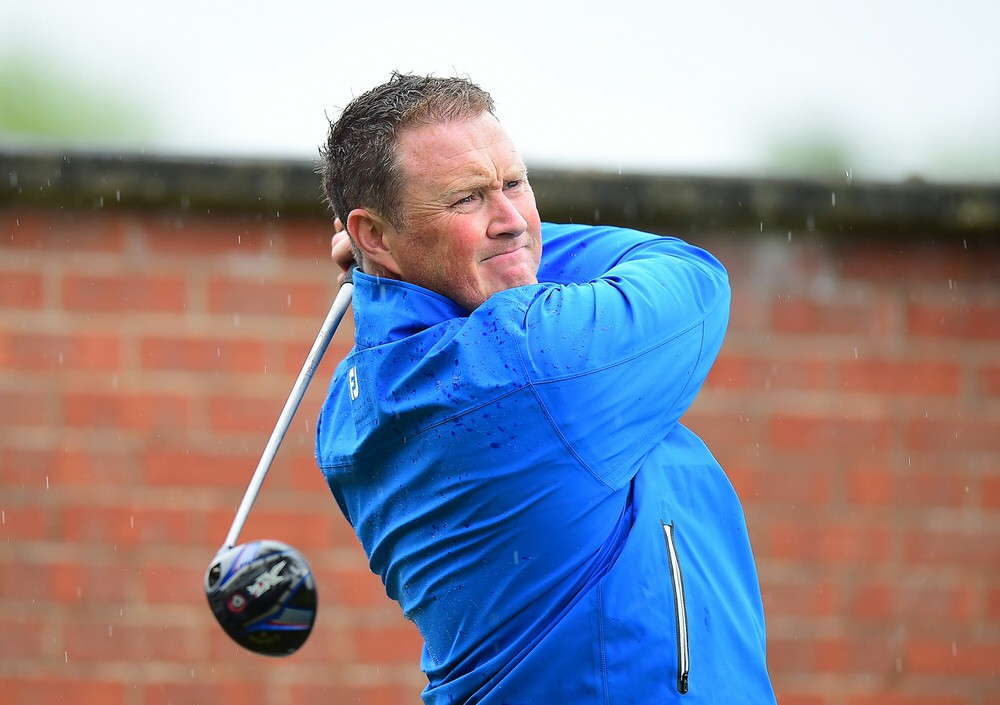 Michael McGeady in action at Coxmoor Golf Club last year. Photo by Tony Marshall/Getty Images