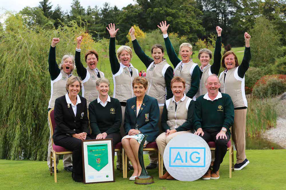 Rathfarnham GC win the Junior Cup at the AIG Ladies Cups and Shields All Ireland Finals at Knightsbrook Hotel and Golf Club Resort.  image by Jenny Matthews (www.cashmanphotography.ie)